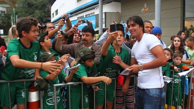 marcelo moreno grêmio fãs olímpico torcida (Foto: Lucas Uebel/Grêmio FBPA)