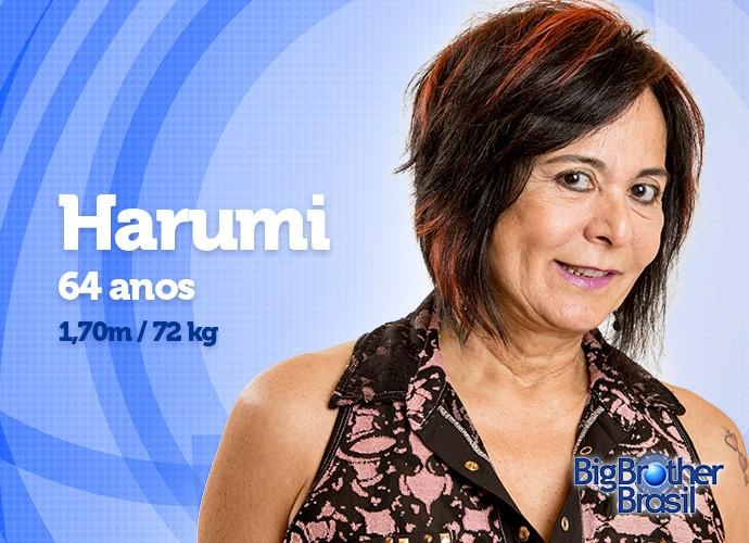 Aos 64 anos, Harumi quer manter a boa forma (Foto: Daniel Chevraud/Gshow)