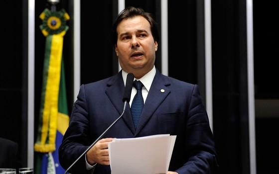 Rodrigo Maia, deputado pelo DEM do Rio de Janeiro (Foto: Gustavo Lima / Câmara dos Deputados)