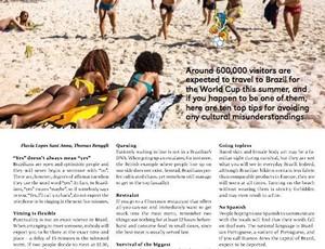 Revista Fifa matéria Brasil Copa do Mundo (Foto: Reprodução)
