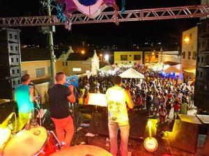 show Carnaval 2015 show São João Nepomuceno (Foto: Fellype Alberto/Portal SJ Online)