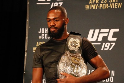 Jon Jones UFC 197 (Foto: Evelyn Rodrigues)