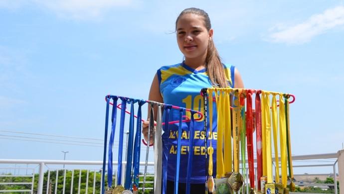Aline vai representar Rondônia pela CBV (Foto: Jonatas Boni)