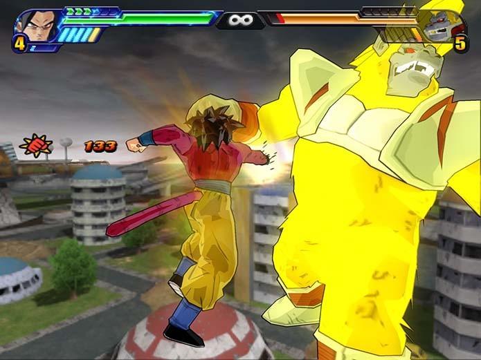É possível jogar com os poderosos personagens de GT (Foto: Reprodução)