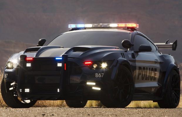 Ator de Transformers revela imagem de novo Barricade (Foto: Divulgação)