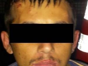 Homem foi preso por tirar fotos íntimas (Foto: PM/Divulgação)