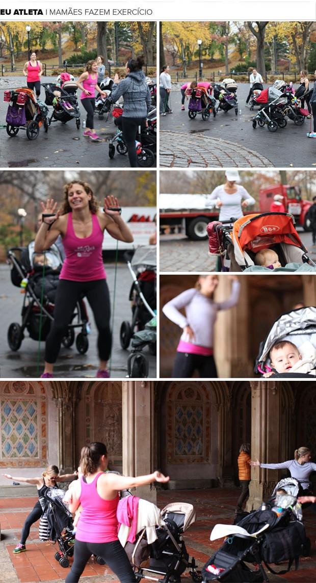 maes fazem exercicio eu atleta (Foto: Camilo Pinheiro/Eu Atleta)