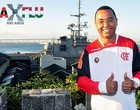 Dudu Nobre e a epopeia no adeus de Zico (Nelson Veiga / Globoesporte.com)