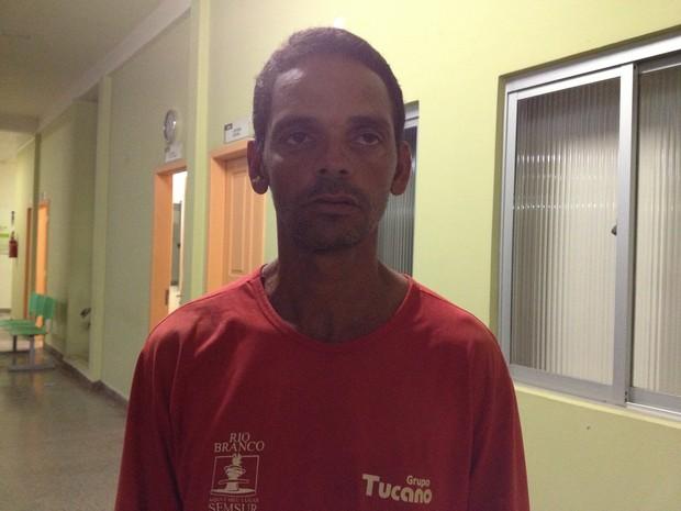 José Arnaldo afirma que estava doente na noite em que aconteceu o crime (Foto: Veriana Ribeiro/G1)