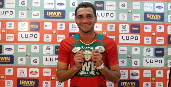 Gilberto portuguesa (Foto: site oficial da Portuguesa)