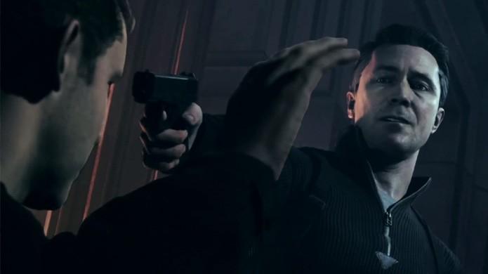 O vilão Paul Serene mata o irmão de Jack, o único capaz de consertar o tempo em Quantum Break (Foto: Reprodução/Quantum Break Wiki)