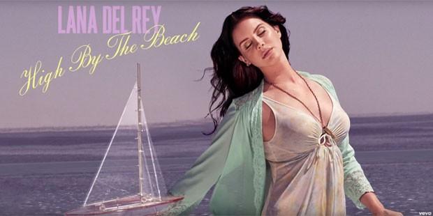 Lana Del Rey lança 'High by the beach', single de seu próximo álbum (Foto: Reprodução/YouTube/LanaDelReyVEVO)