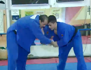 Treino dos atletas do judô de RO (Foto: Reprodução/ TV Rondônia)