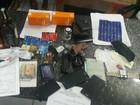 Três homens são presos com 16 cartões de crédito e mais de R$ 4 mil