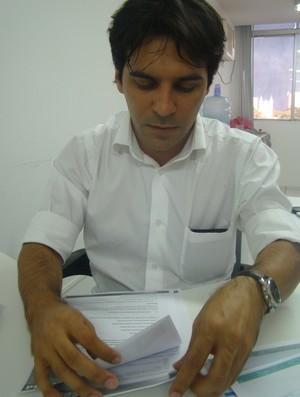 Francisco Ferraz presidente da CBBd (Foto: Aline Rodrigues)