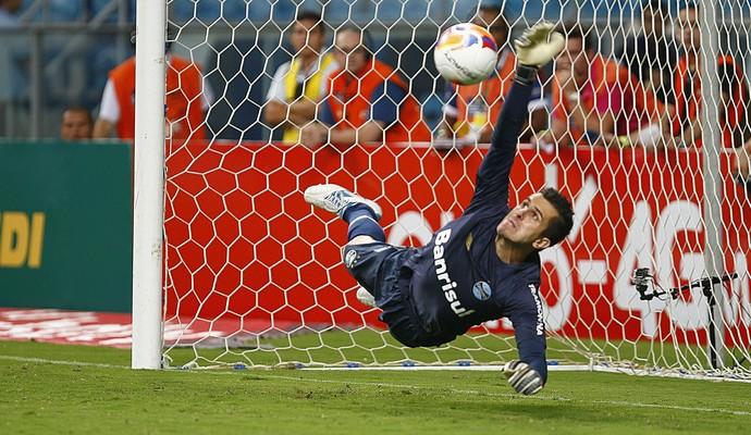 Marcelo Grohe goleiro Grêmio (Foto: Lucas Uebel / Grêmio FBPA)