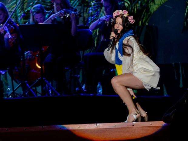 Lana Del Rey (Foto: Flavio Moraes/G1)