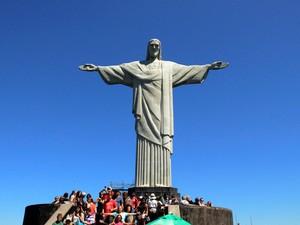 Corcovado - No alto do Morro do Corcovado está o monumento brasileiro mais conhecido em todo o mundo: o Cristo Redentor, de braços abertos. (Foto: Alexandre Macieira / Divulgação Riotur)