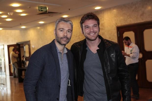 Ângelo Paes Leme e Emílio Dantas (Foto: Isac Luz / EGO)