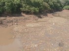 Sujeira em ribeirão não compromete abastecimento, diz prefeitura