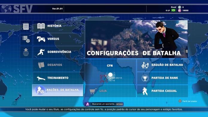Aprenda a se preparar para o multiplayer em Street Fighter 5 (Foto: Reprodução/Felipe Vinha)