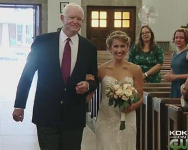 Casamento nos Estados Unidos (Foto: Reprodução/Facebook/CB)