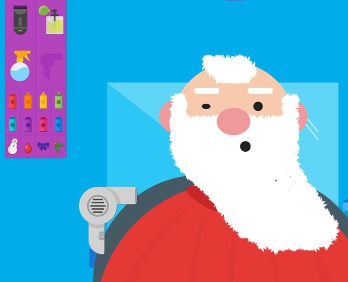 Selfie do Papai Noel (Foto: Reprodução/Gabrielle Lancellotti)