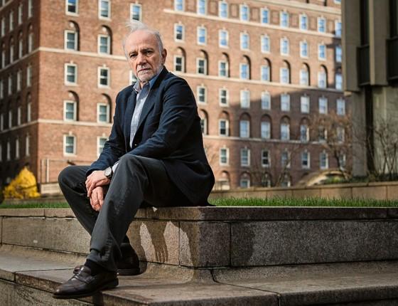 André Lara Resende, economista, no campus da Universidade de Columbia em Nova York (Foto: Gilberto Tadday / Editora Globo)