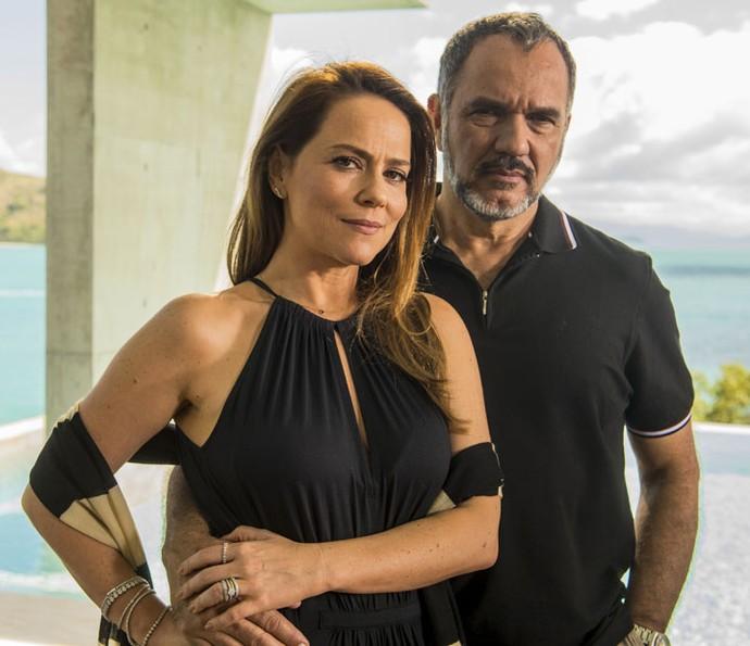 Foi durante o casamento de 20 com Lili que Germano se envolveu com a doméstica da família (Foto: Renato Rocha Miranda/Globo)