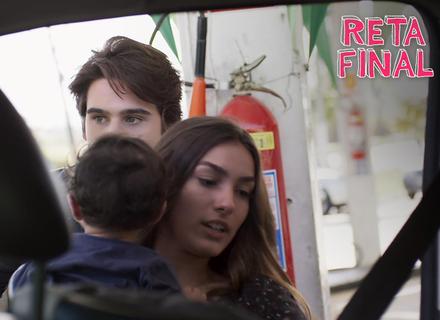 Rodrigo e Luciana sequestram Rodriguinho