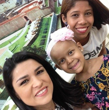 Sophia Guimarães - visita TV Liberal  (Foto: Reprodução/ Instagram)
