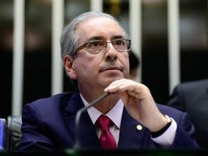 13/10/2015 - Eduardo Cunha (PMDB-RJ) durante sessão na Câmara dos deputados (Foto: Gustavo Lima/Câmara dos Deputados)