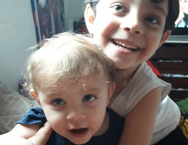 Fernanda e o irmão, Miguel (Foto: Arquivo pessoal)