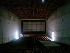 Sala de cinema em Candeias está abandonada e com reforma parada