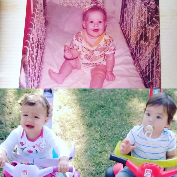 Luana Piovani se compara com os filhos (Foto: Instagram / Reprodução)