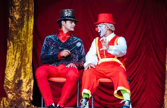 A turma de palhaços do Circo Ramito promete transformar cada sessão em uma festa (Foto: Divulgação/Circo Ramito)
