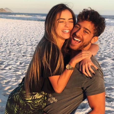 Anna Rita Cerqueira com o namorado, Raphael Machado (Foto: Reprodução)