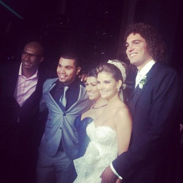Casamento de Anderson Varejão (Foto: Reprodução Redes Sociais)