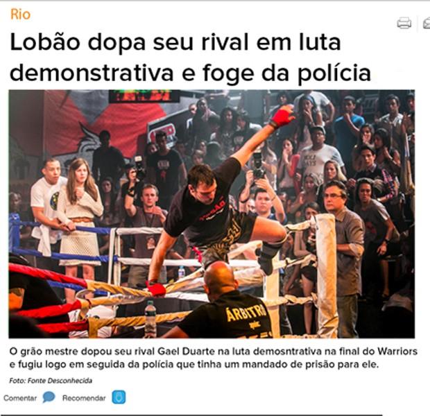 Notícia da fuga de Lobão se espalha na web (Foto: Malhação / TV Globo)