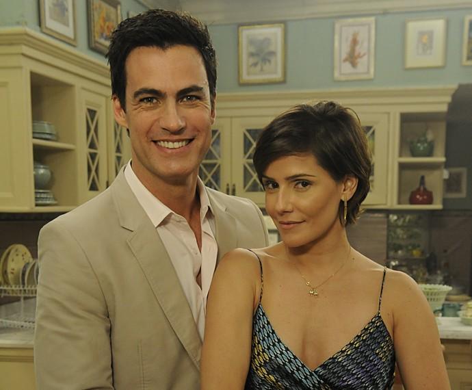 Carlos Casagrande contracenou com Deborah Secco em Louco por Elas (Foto: Estevam Avellar / TV Globo)