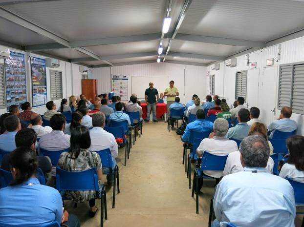 Representantes do CCBM reuniram-se com procuradores do trabalho. (Foto: Divulgação/MPT)