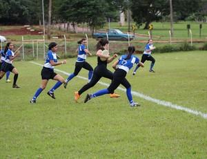 Time Caninanas do Palmas Rugby Clube (Foto: Divulgação/Kelly Regis)