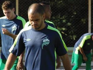 Júlio Terceiro já voltou ao treinos (Foto: Assessoria/Luverdense)
