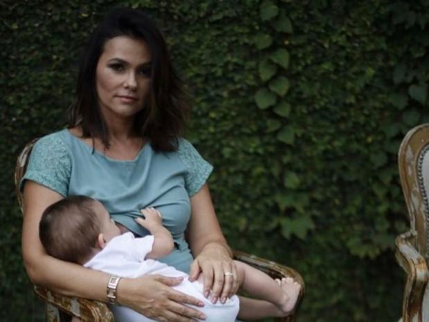Suzana Alves com o filho, Benjamin (Foto: Reprodução Instagram)