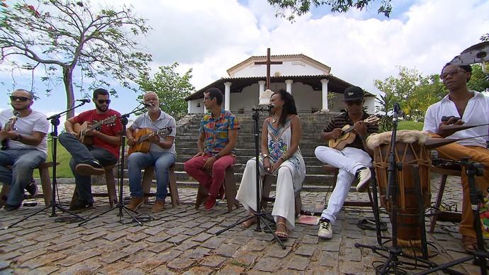 'Aprovado' homenageia centenário do samba com rodas e história (Foto: TV Bahia)