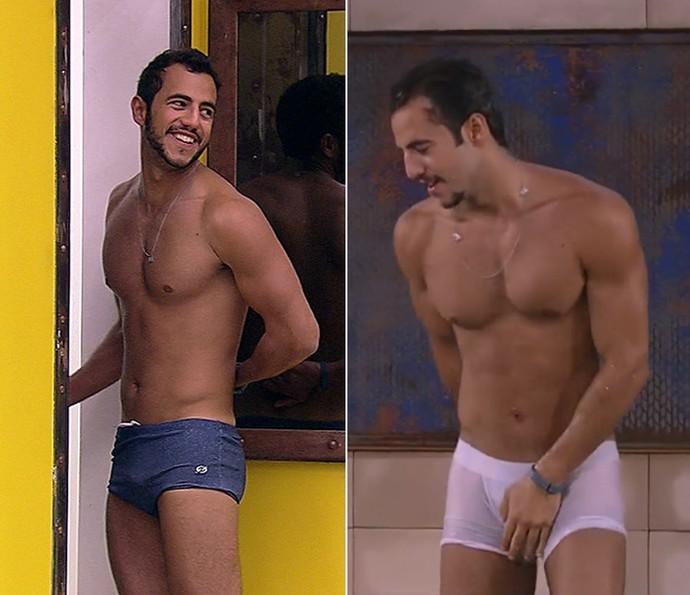 Matheus sofreu um efeito sanfona na casa (Foto: TV Globo)