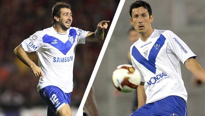 Pratto e Cabral se conheceram quando jogaram juntos, no Vélez Sarsfield, da Argetina (Foto: GloboEsporte.com)