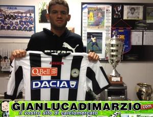 Jadson udinese reprodução gianluca diimarzio (Foto: Reprodução / Site GianlucaDiMarzio.com)