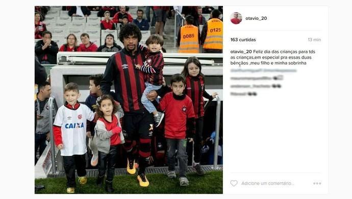Atlético-PR crianças (Foto: Reprodução)