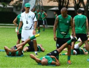 Coritiba treina em Foz do Iguaçu (Foto: Divulgação / Site oficial do Coritiba)